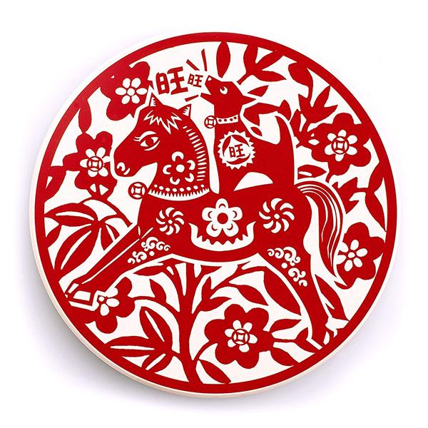 寶號BONHO|馬上旺-陶瓷吸水杯墊(可愛版)