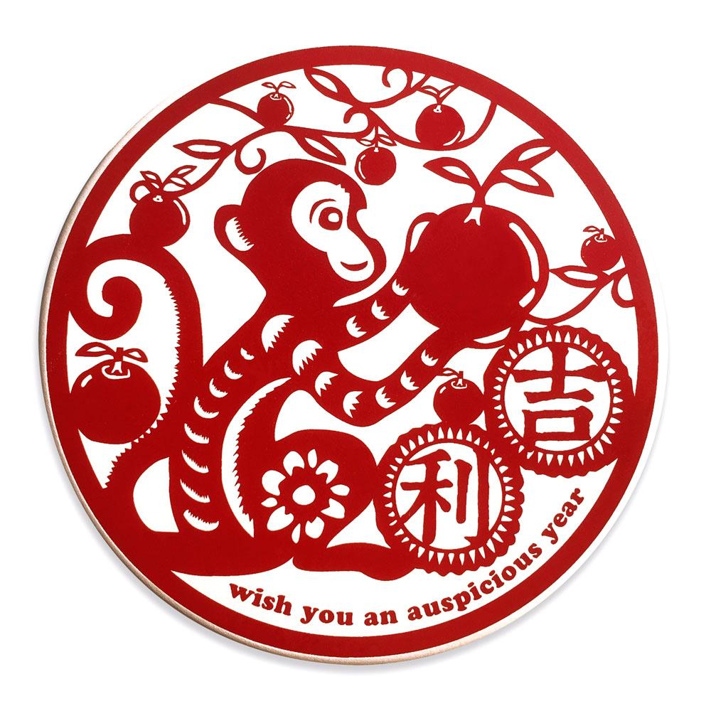 寶號BONHO|猴吉利陶瓷吸水杯墊