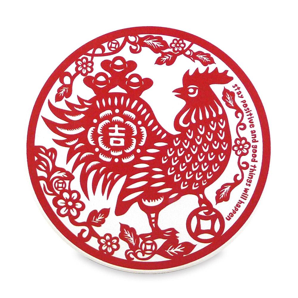 寶號BONHO|雞吉金取陶瓷吸水杯墊