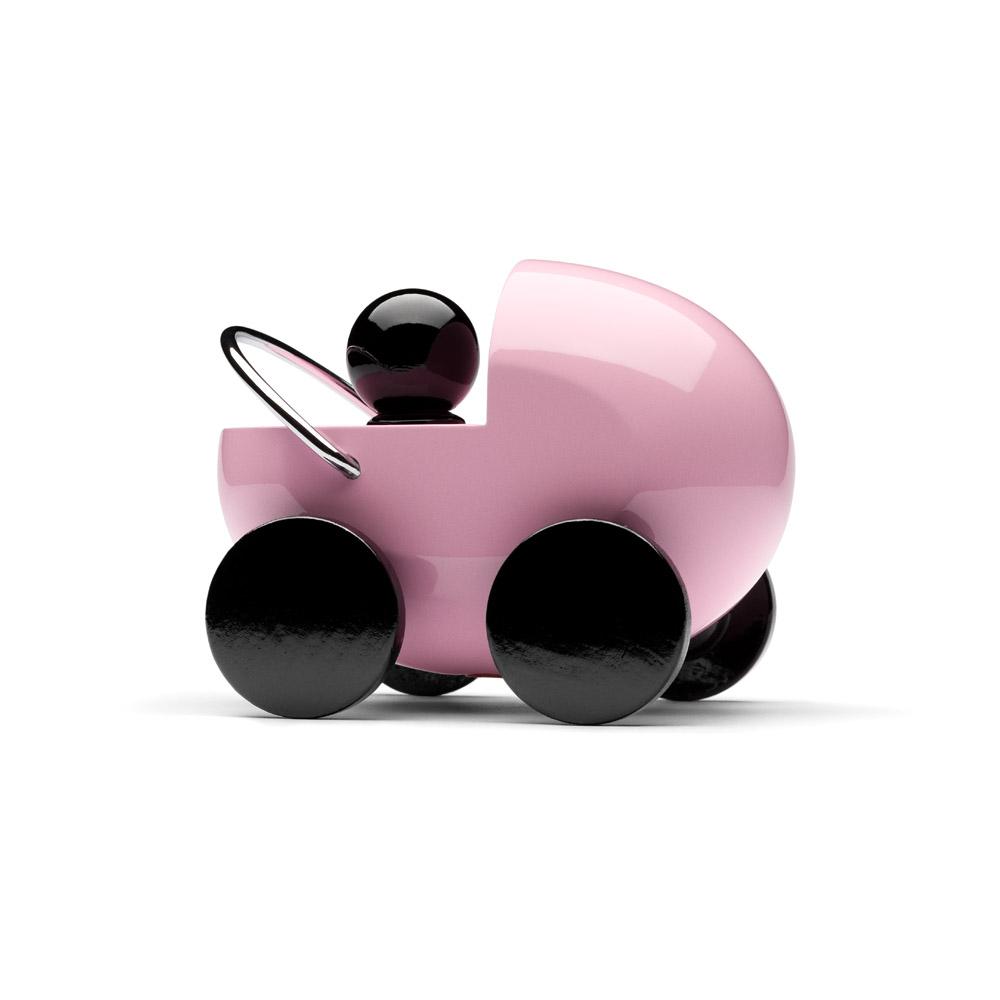 PLAYSAM|嬰兒車(粉色)