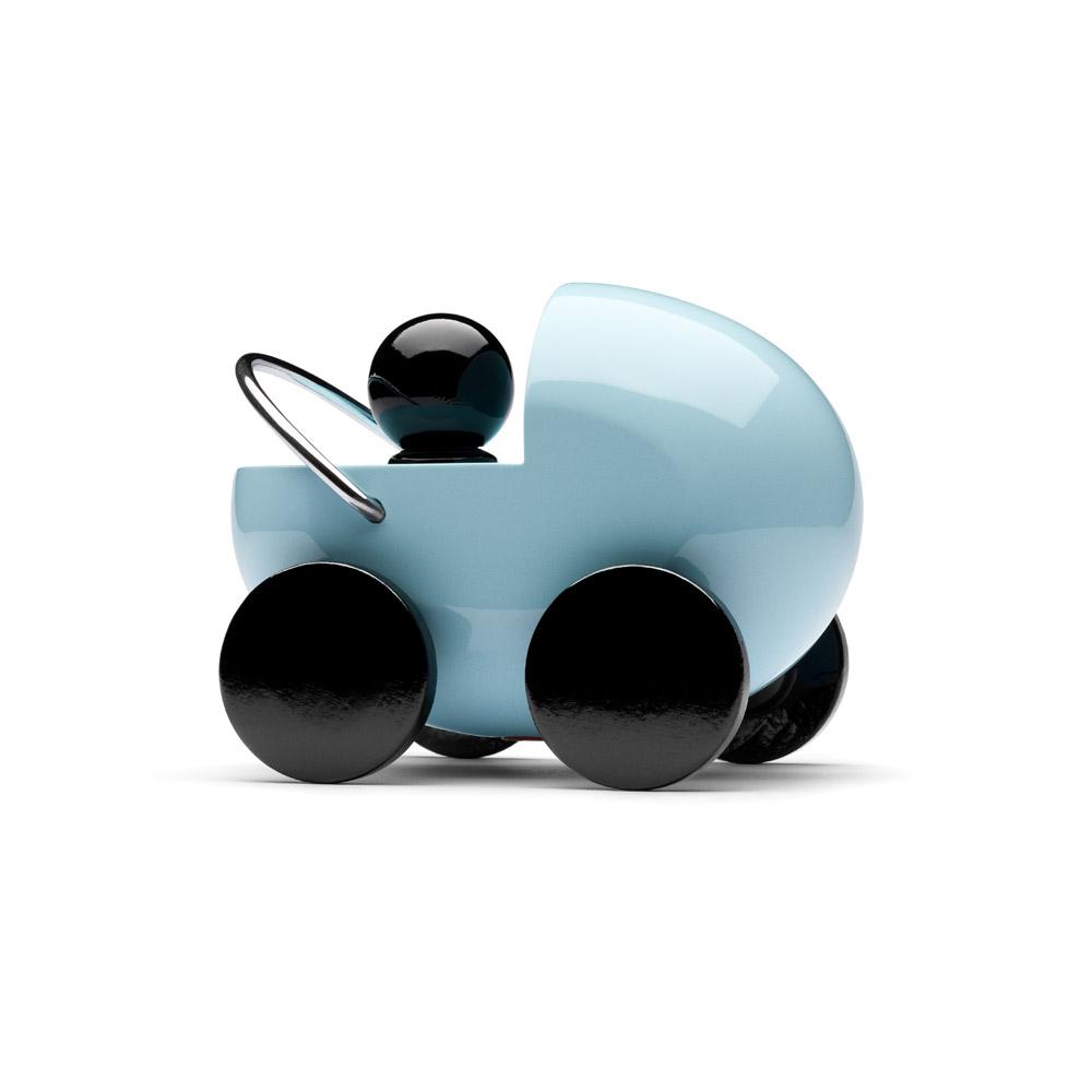 PLAYSAM|嬰兒車(藍色)