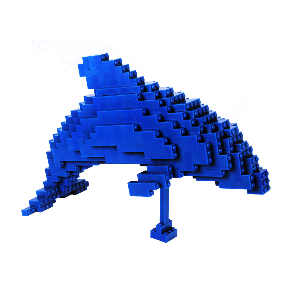 Briick Master 積木大師 藍色海豚-DOLPHIN