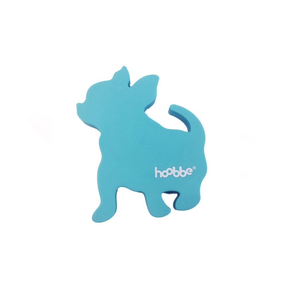 HOOBBE|趣味聲音杯墊(粉藍狗)