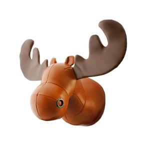 Zuny|麋鹿造型牆掛飾(Rudo-黃褐色)