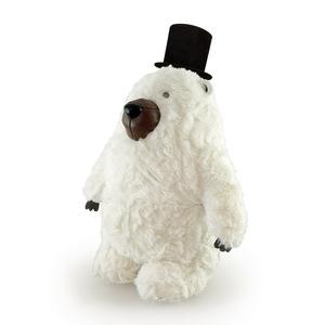 Zuny|Classic-紳士北極熊造型擺飾書檔