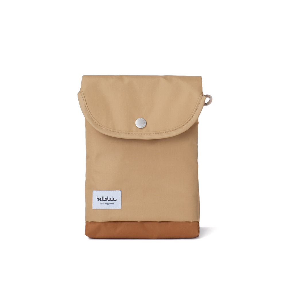 Hellolulu Tess-iPad mini輕便手提包(淺啡)