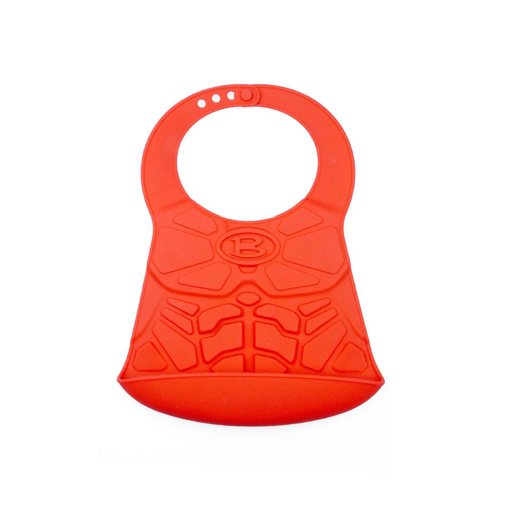 HOOBBE|英雄造型嬰兒圍兜(紅)
