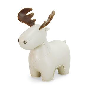 Zuny|大角麋鹿造型擺飾書檔(Rudo-小麥色)