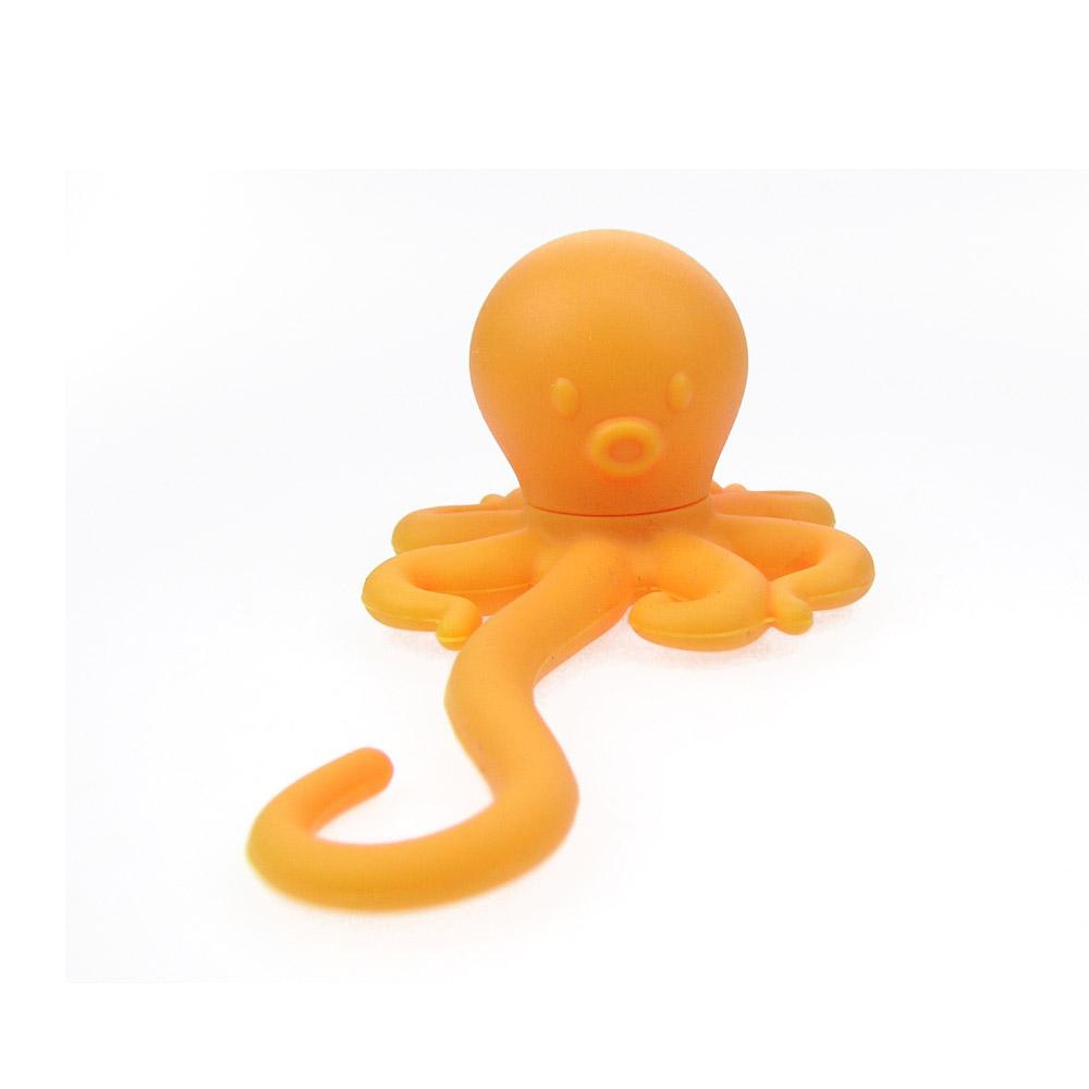 HOOBBE|噴墨章魚造型泡茶包(橘)-2入