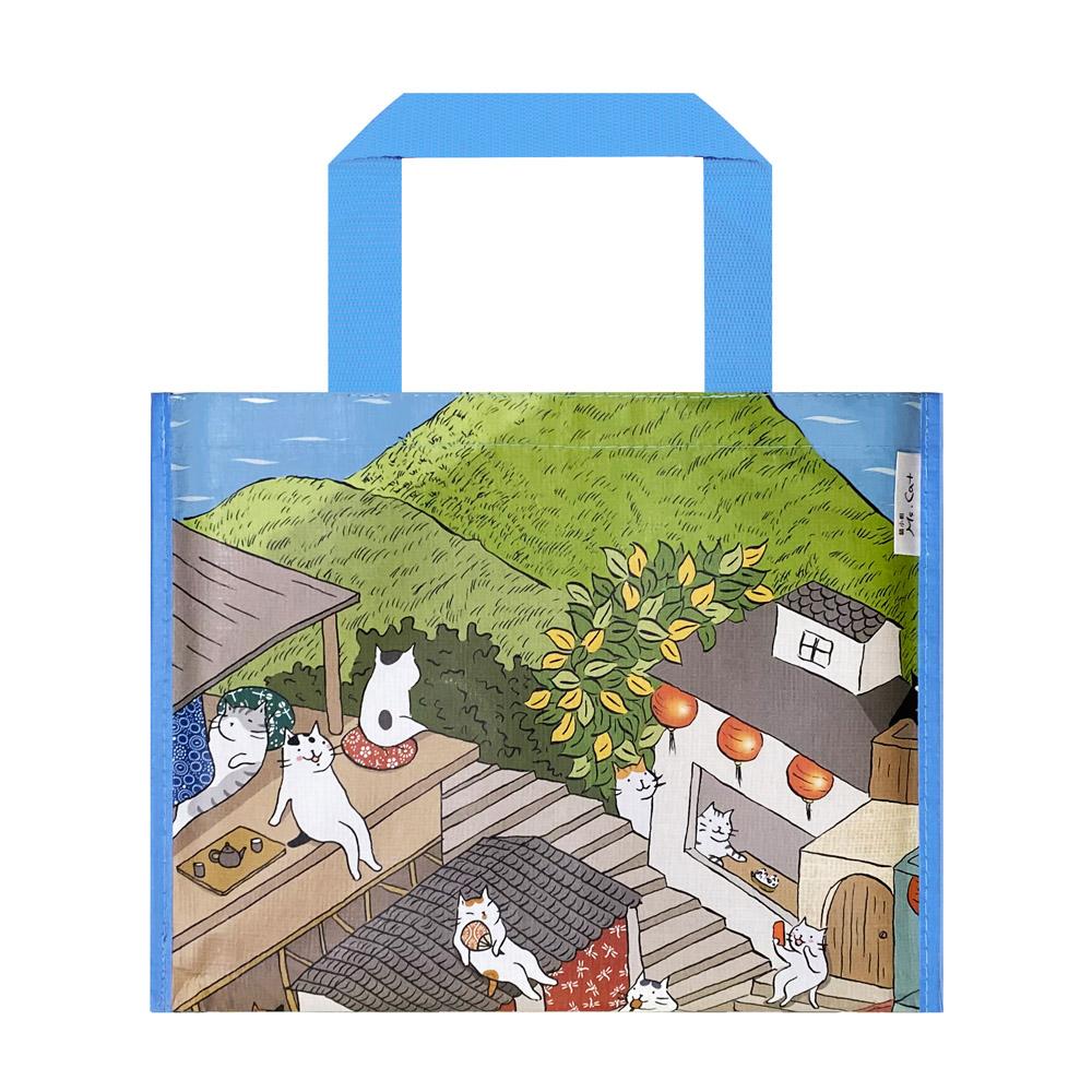 Sunny Bag|貓小姐Ms.Cat-野餐墊_九份貓城