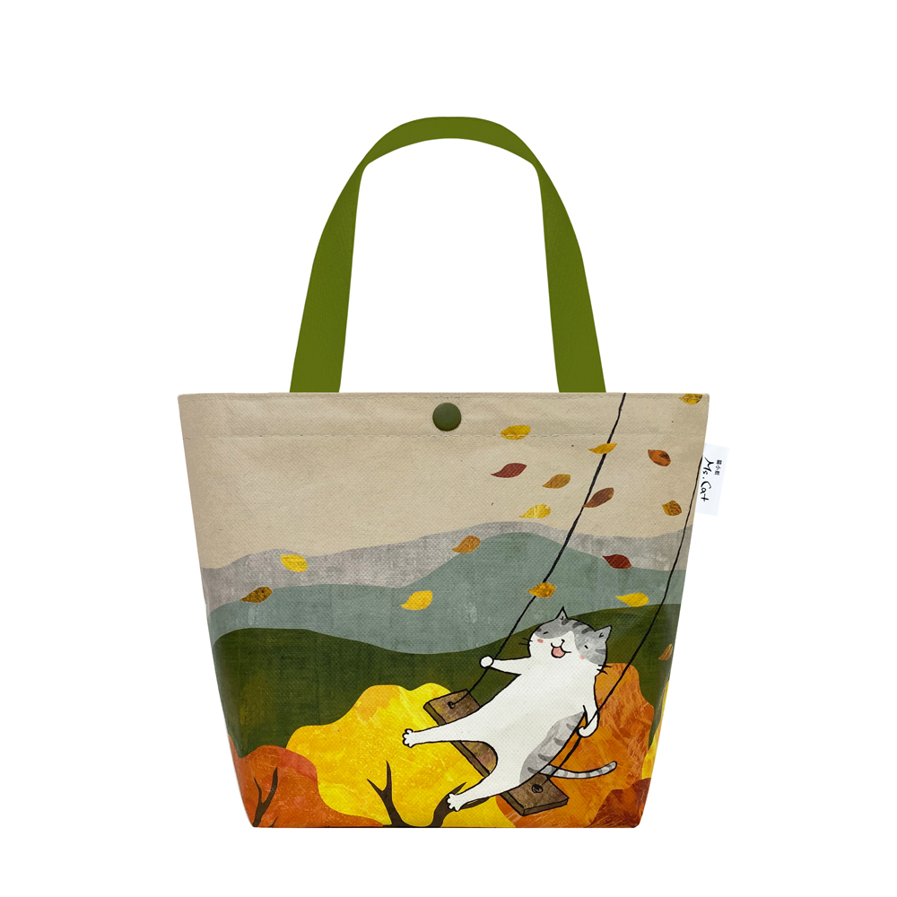 Sunny Bag|貓小姐Ms.Cat-托特包_貓咪盪鞦韆