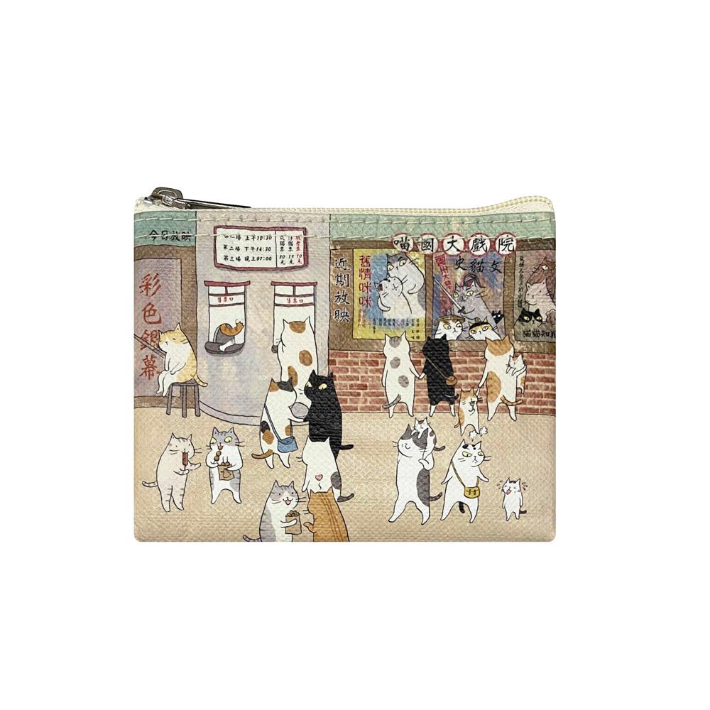 Sunny Bag|貓小姐Ms.Cat-萬用收納袋(小)_喵國大戲院