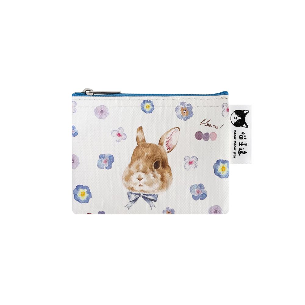 Sunny Bag 喵星達-紫羅蘭兔兔小零錢包