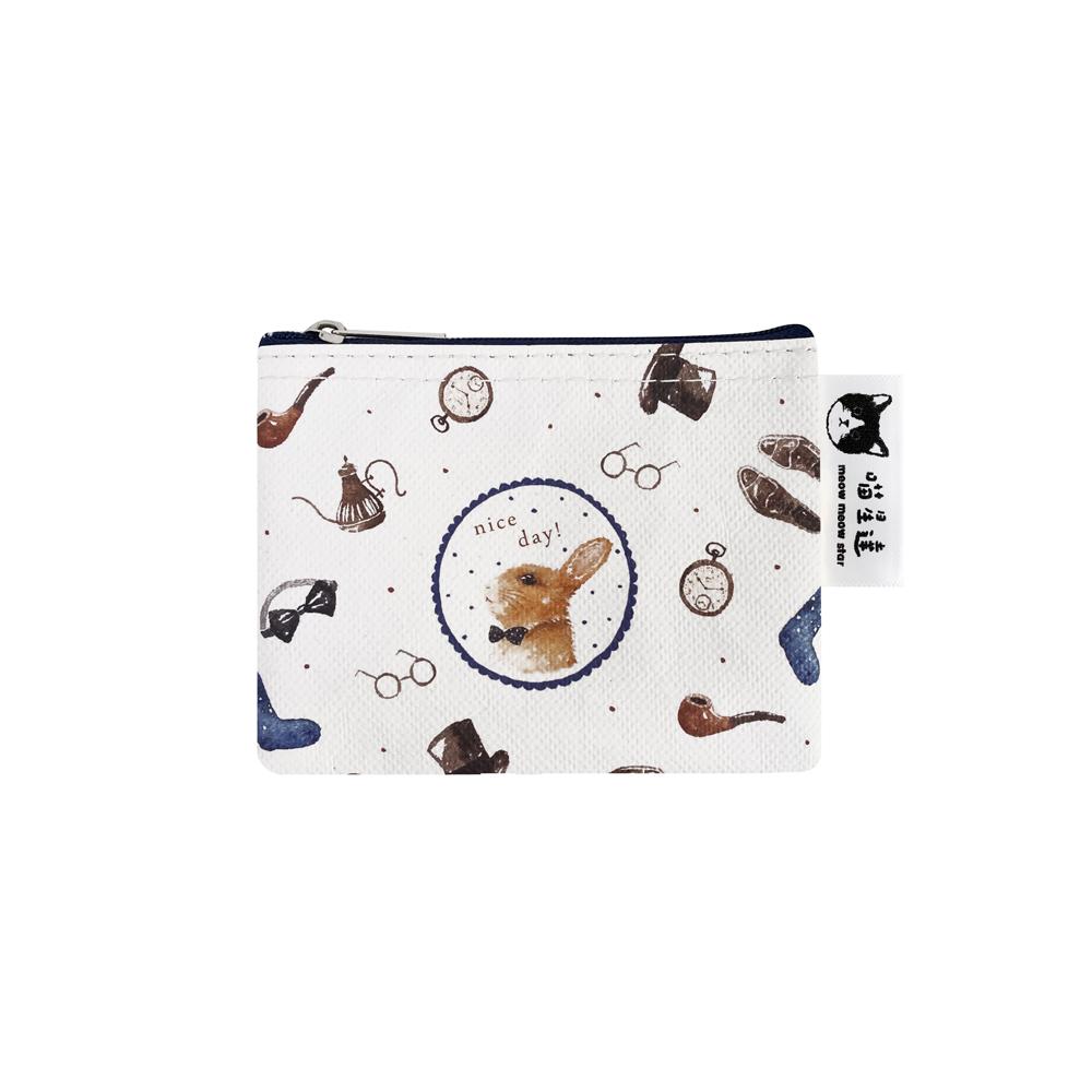 Sunny Bag|喵星達-紳士兔兔小零錢包