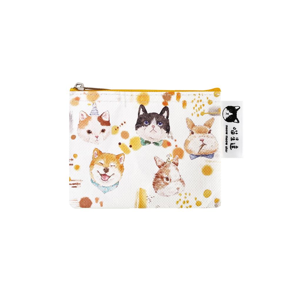 Sunny Bag|喵星達-動物肖像小零錢包