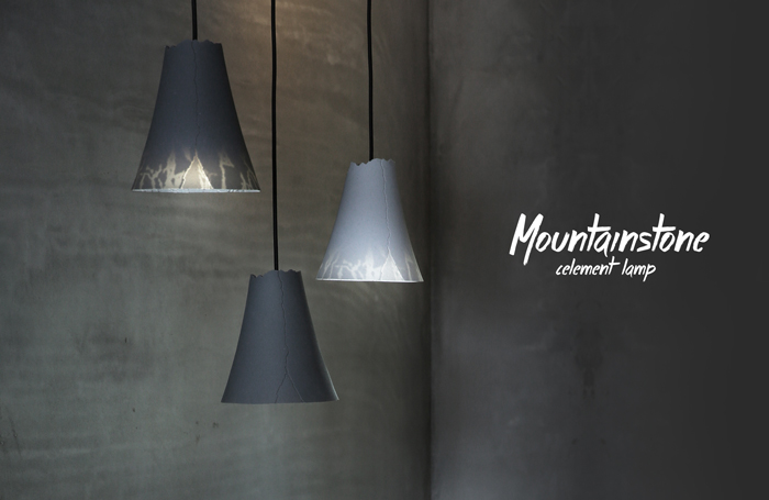 tripleliving|山石軟泥燈