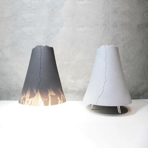 CELEMENT LAB 山石軟泥燈