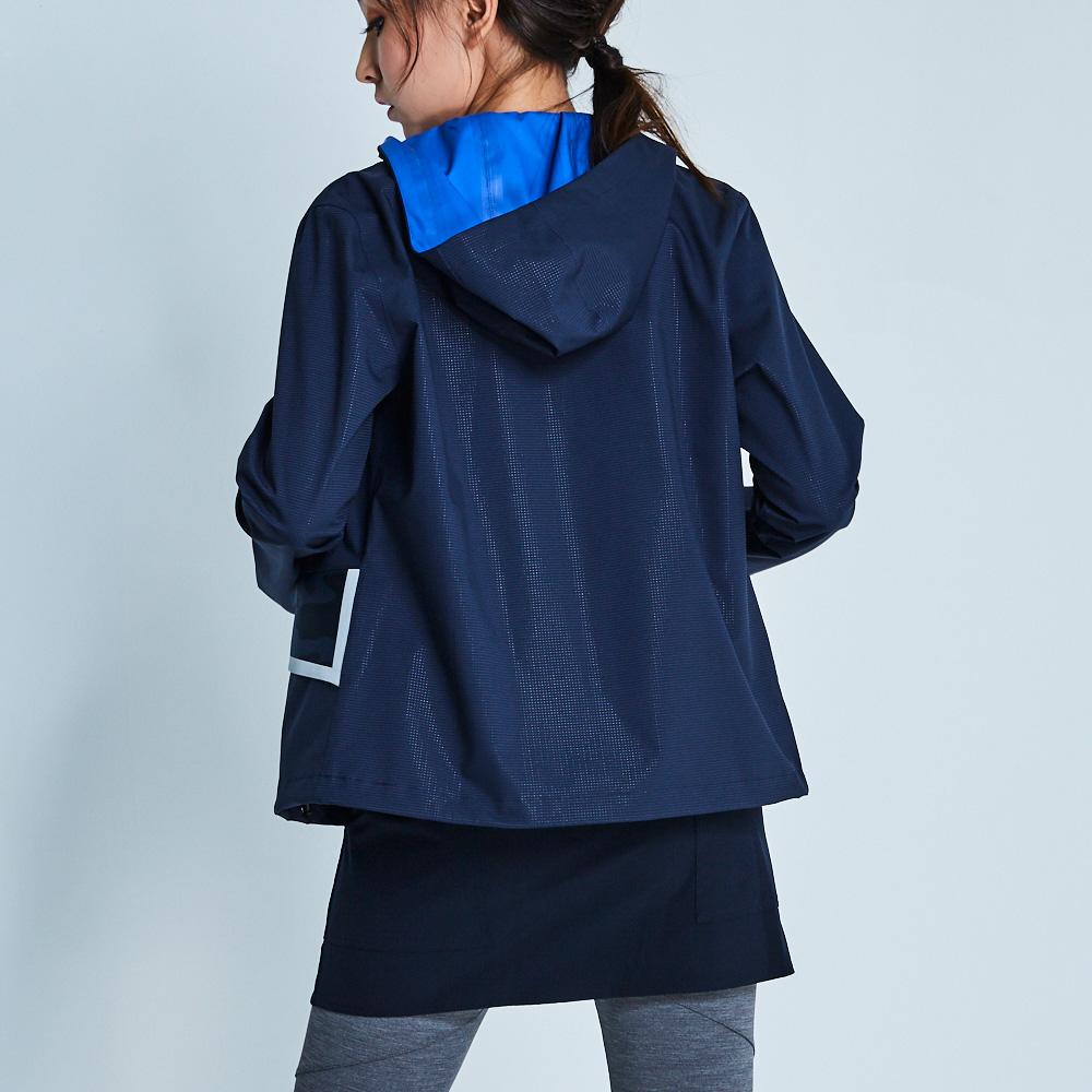 design+|科技未來感深藍外套 /(181JK3BL03)