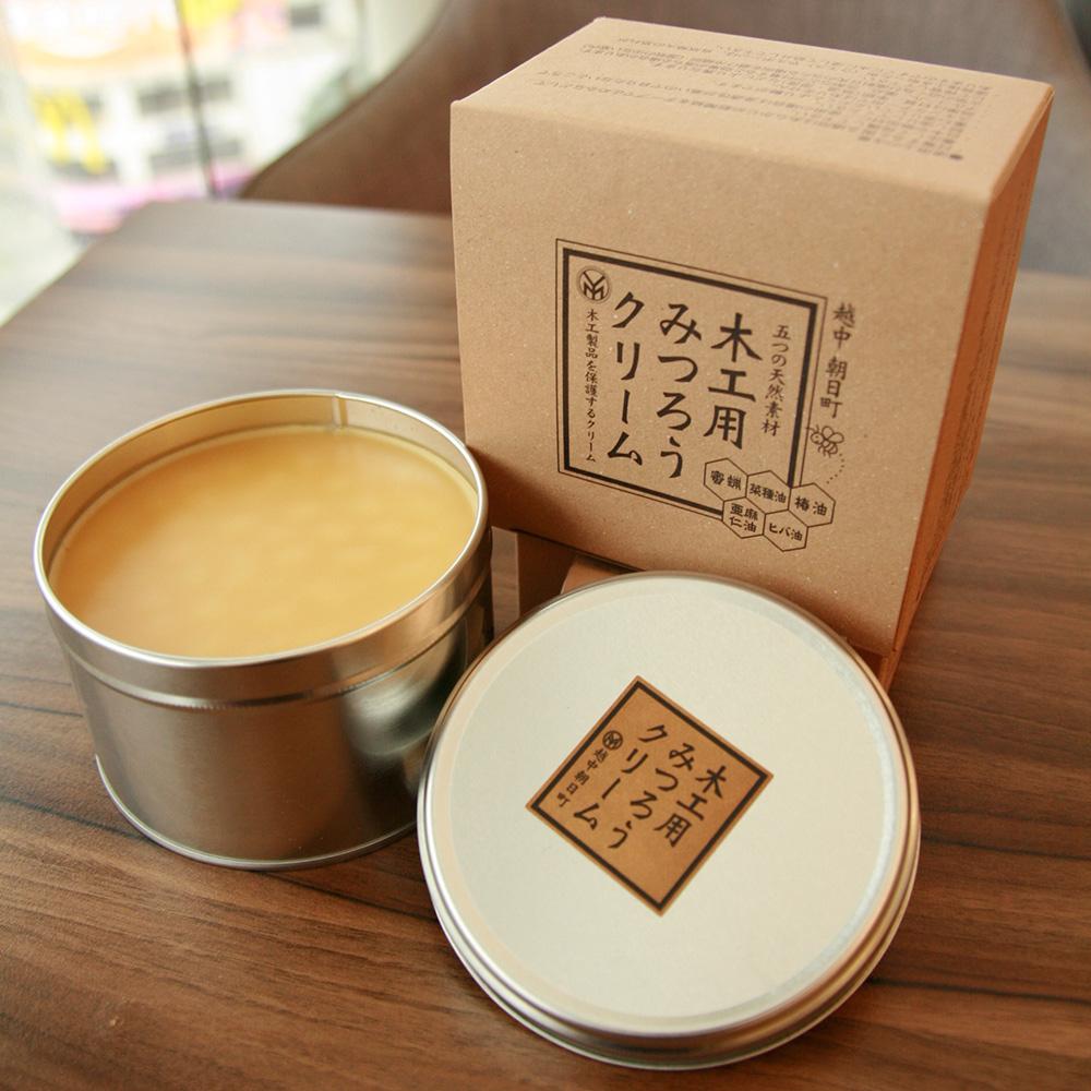 微森林|日本原裝進口天然蜜蠟霜-木工用400g