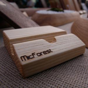 微森林|栓木手機座 iPhone系列適用