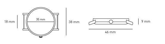 (複製)KERBHOLZ|原木手錶 CASPAR-核桃木(42mm)