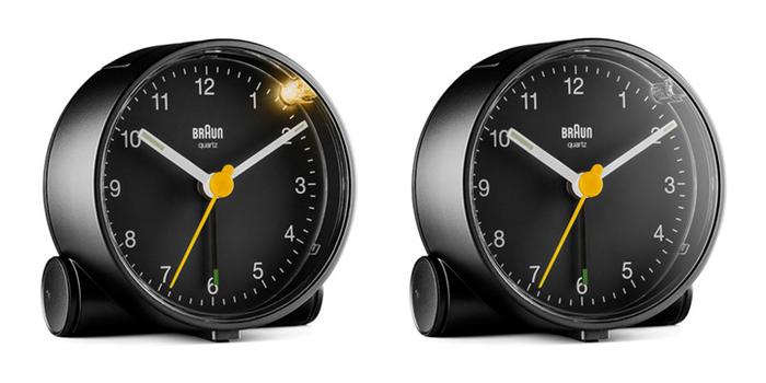 德國BRAUN百靈|經典圓型旅行鬧鐘-黑(BNC001BKBK)