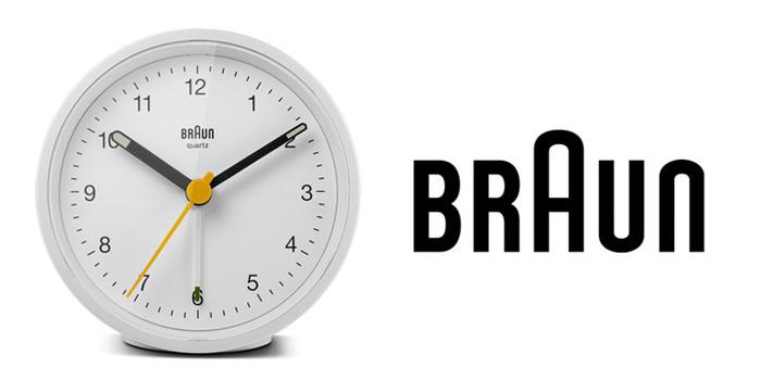德國BRAUN百靈|復古圓型旅行鬧鐘-白(BNC012WH)