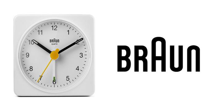 德國BRAUN百靈|復刻經典旅行鬧鐘-白(BNC002WHWH)