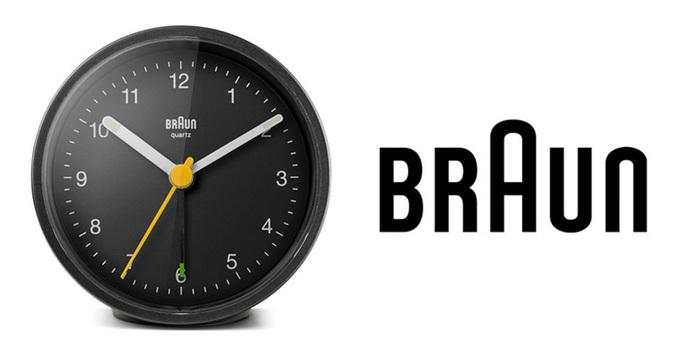 德國BRAUN百靈|復古圓型旅行鬧鐘-黑(BNC012BK)
