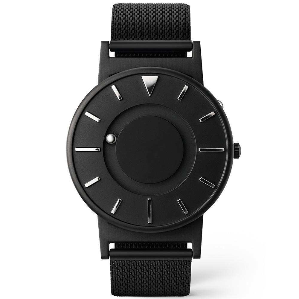 EONE|The Bradley 觸感腕錶(珍珠黑)