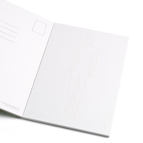 FASHIONARY|水彩紙明信片組/ 男版