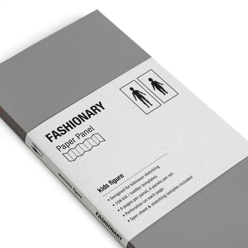 FASHIONARY|樣板卡/ 兒童版/ 身形