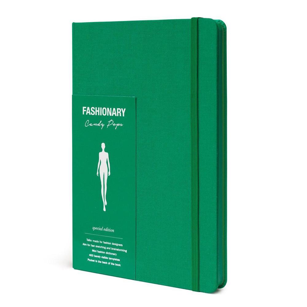 FASHIONARY|手繪本/ 女版/ A5/ 綠