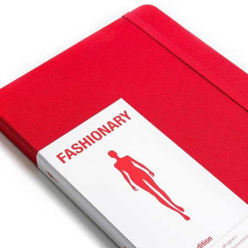 FASHIONARY|手繪本/ 女版/ A5/ 紅