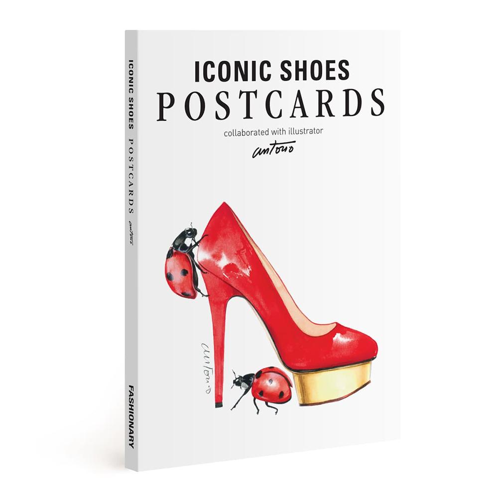 FASHIONARY|Antonio Soares聯名款/ 鞋設計明信片組