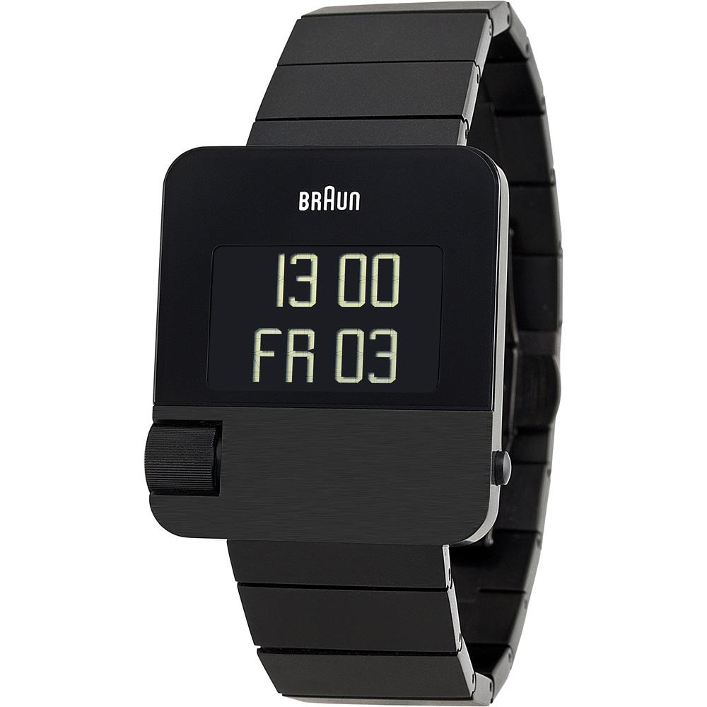 德國BRAUN百靈|數位科技多功能錶(黑)