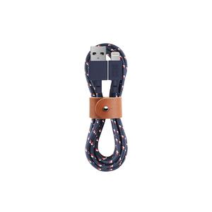 Native Union|Belt Cable充電傳輸線Lightning(海軍藍)-iPhone/iPad/iPod