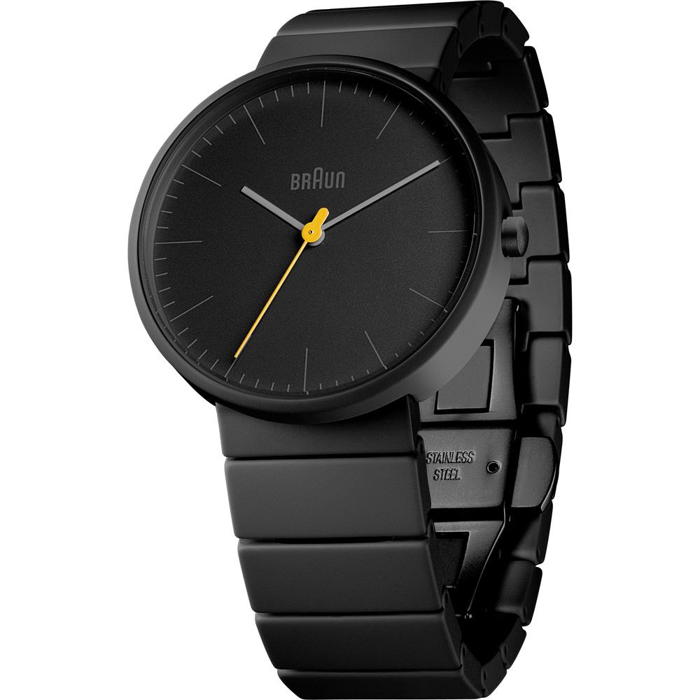 德國BRAUN百靈|極簡石英錶(黑)