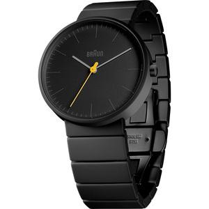 德國BRAUN百靈 極簡石英錶(黑)