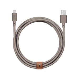 Native Union|Belt Cable 充電傳輸線Lightning/3M(卡其)