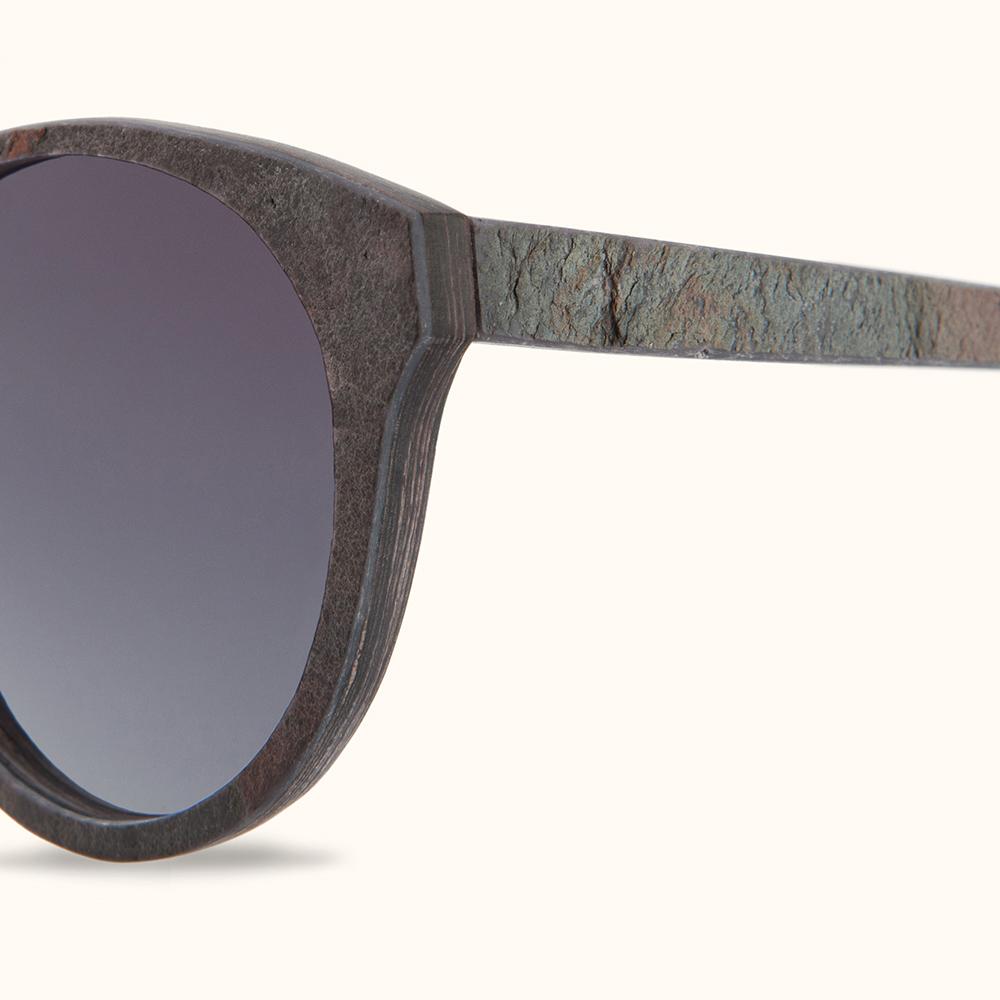 KERBHOLZ|原木太陽眼鏡 Leopold-玫瑰岩