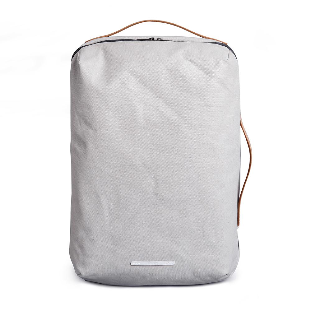 RAWROW|帆布系列-15吋三用經典後背包-米灰(RBP170GY)