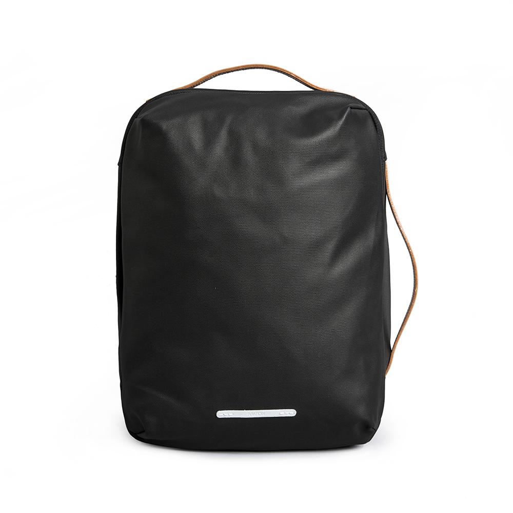 RAWROW|帆布系列-13吋三用經典後背包-墨黑(RBP270BK)