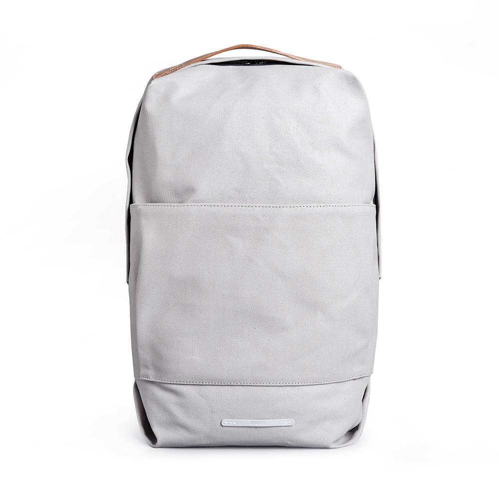 RAWROW|帆布系列-13吋時尚後背包-米灰(RBP280GY)