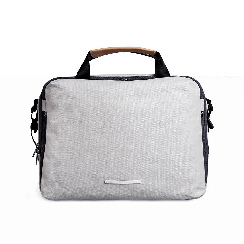 RAWROW|帆布系列-13吋三用簡約休閒包-米灰(RBF120GY)