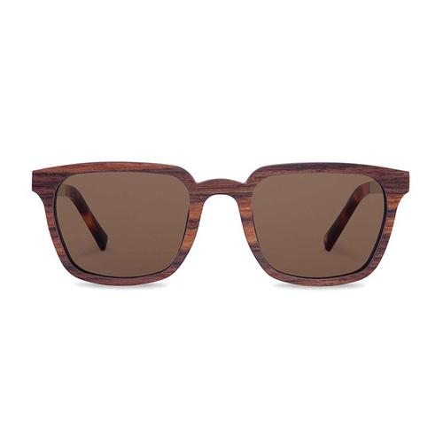 KERBHOLZ|原木太陽眼鏡 Theodor -斑馬木-棕色鏡片