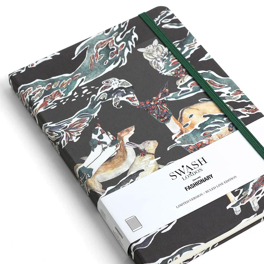FASHIONARY|Swash London 聯名款筆記本/ A5/ Candy Camo