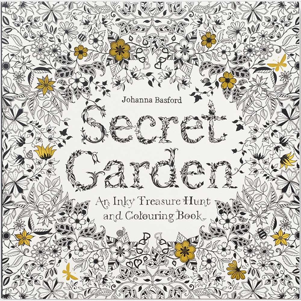 Laurence King|Secret Garden 祕密花園 - 奇幻之旅手繪本 (方形)