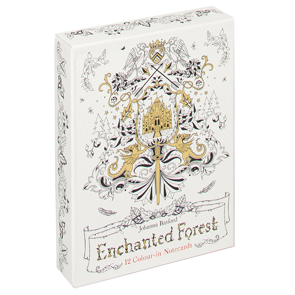 Laurence King|Enchanted Forest 魔法森林 - 手繪萬用卡組(12張)