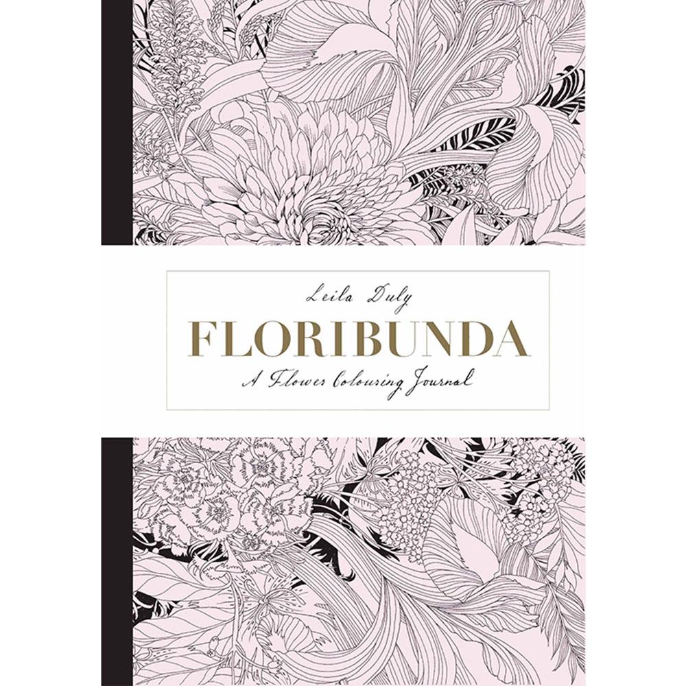 Laurence King Floribunda 繾綣豐花 - 手繪筆記本 (A5)